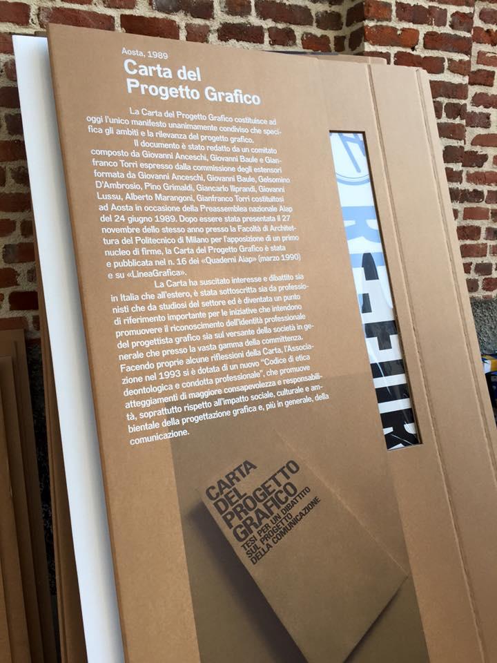 Aiap | Dx 2015 Milano Carta del progetto grafico